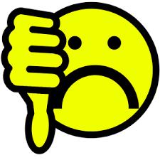 Sad Thumbs Down